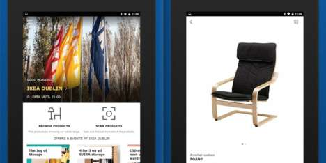 Shopping Assistant Apps - IKEA's Mobile App Now Doubles as a Helpful In-Store Assistant