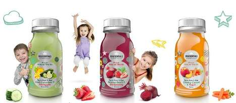 Kid-Friendly Vegetable Juices - These Tasty Juices Help Children Eat More Fruits and Vegetables