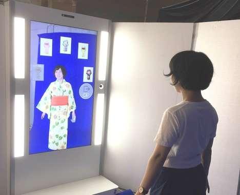 Virtual Kimono Fittings