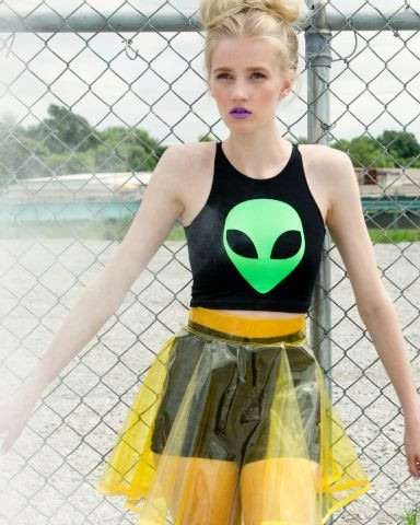 Paranormal-Themed Apparel - These Cosmic Clothes are Perfect for Space-Loving Fashionistas