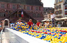 Giant Outdoor Ball Pits