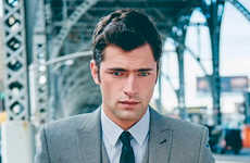 Urban Gentleman Catalogs - Sean O'Pry Stars in The Latest Menswear Lookbook for Next