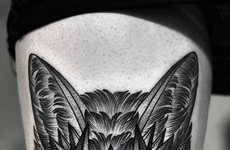 Elegant Grayscale Tattoos