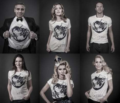 Arctic-Saving T-Shirt Ads - This Campaign was Created by Vivienne Westwood & Andy Gotts MBE