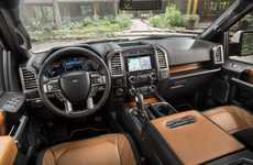 Tech-Savvy Luxury Trucks