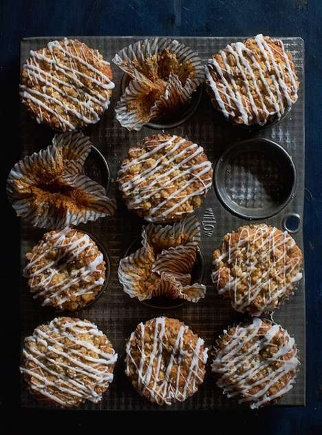 Cinnamon Roll Muffins - These Decadent DIY Muffins Feature a Sweet Streusel Topping