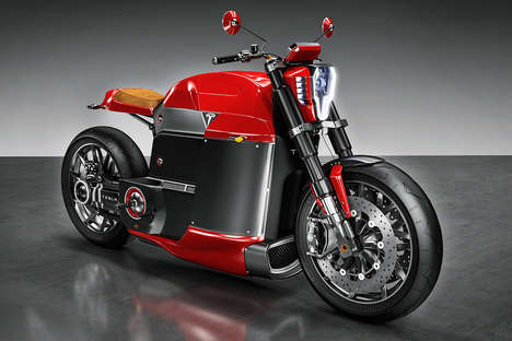 21 Innovative Motorized Bikes - From Surfboard-Carrying Motorcycles to Flying Motorcycles
