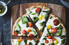 Wheat-Free Pepper Pizzas