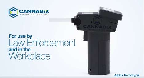 Weed-Detecting Devices - Cannabix Technologies Built a Marijuana Breathalyzer For Police to Use