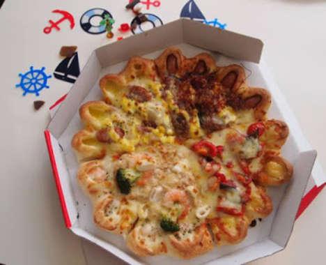 Shrimp-Infused Pizzas