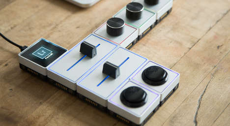 Analog Modular Tools - The Programmable Modules in the Palette Gear are Physical and Digital Tools
