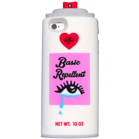 Spray Can Phone Cases - The Basic Repellent 3D Phone Case Offers Protection from the Basics