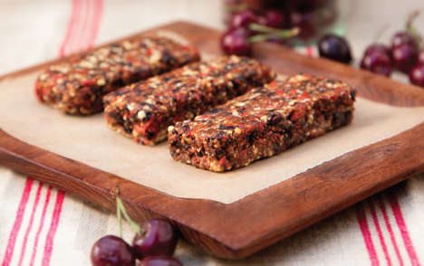 Chocolate Goji Bars - These Superfood Snack Bars are Filled with Vital Vitamins