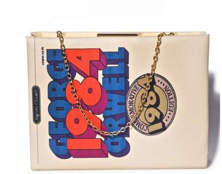 Iconic Book Clutches - This Cool Clutch Turns a George Orwell Masterpiece into a Fashion Accessory