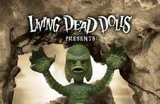 Legendary Creature Toys - Mezco Toyz' Living Dead Doll Takes After a Monster From the Deep