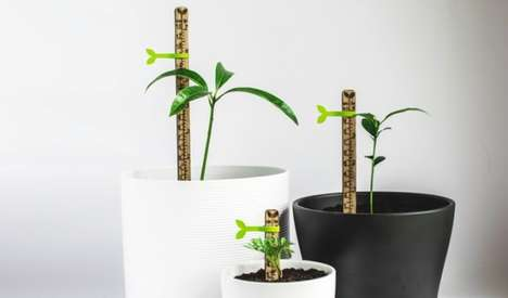 Plant Measuring Sticks - The Picky is a Tiny Tool for Plant Measurement for Gardening Enthusiasts