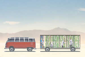 Isabel is a Traveling Vertical Farm Trying to Get to Burning Man