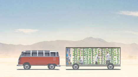 Festival-Bound Mobile Farms - Isabel is a Traveling Vertical Farm Trying to Get to Burning Man