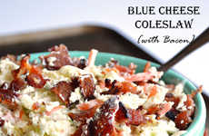 Bacon Blue Cheese Slaws