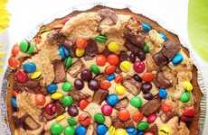 Cookie Dough Candy Desserts - This Extremely Sweet Cookie Pie Contains All the Desserty Goodness