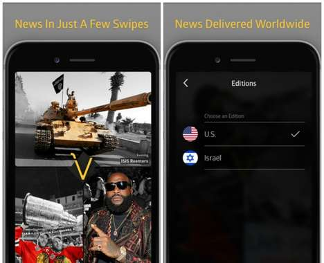 Visual News Apps