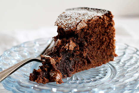 Chocolate Beet Cake Recipes - Healthy Veggies are Easily Concealed in This Delicious Dessert