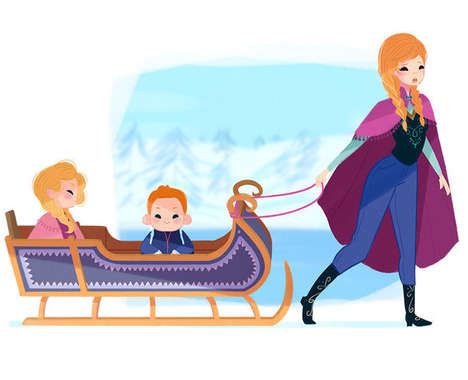 Maternal Disney Princesses