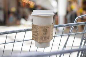 These Innovative Cardboard Cup Holders Make Shopping with Coffee Easy