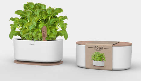 Urban Home Gardening Kits - Urban Oasis Pots Contain Everything You Need to Start Your Own Microfarm