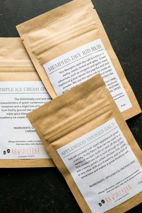 Recipe-Based Spice Subscriptions - This Subscription Service Provides Customized Spice Blends