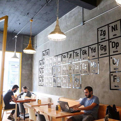 Crime Series Cafes - This Coffee Shop was Created in Honor of the Show Breaking Bad