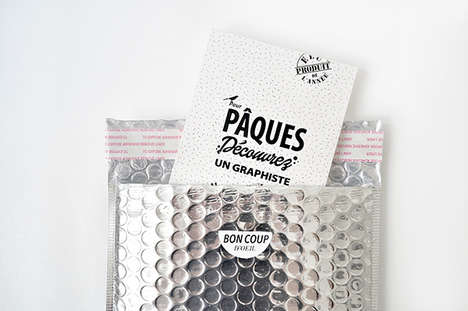 Candy Bar CVs - This Vintage Chocolate Bar-Themed Portfolio Packaging is Creative and Delicious