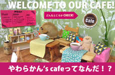 This Japanese Cafe is Specifically Designed to Serve Stuffed Animals and Toys