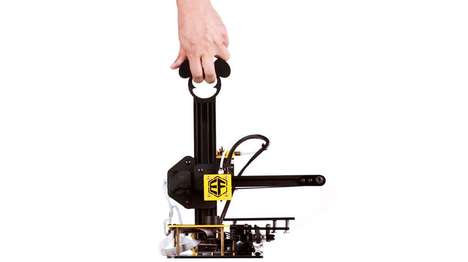 Portable 3D Printers - The Freaks3D Allows You To Create On the Go