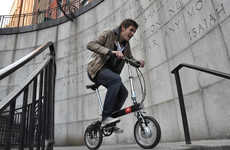 Commute-Mapping Bicycles - This Smart Electric Bike Helps You Plan the Fastest and Safest Commute
