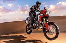 The Honda 2016 CRF1000L Africa Twin is Designed For Off-Road Riding