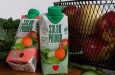 SaladPower's Beverage Helps You Drink Your Vegetables
