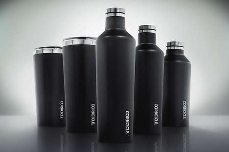 Extreme Cooling Canteens - The Corkcicle Canteen Helps to Keep Drinks Cool for Up to 25 Hours