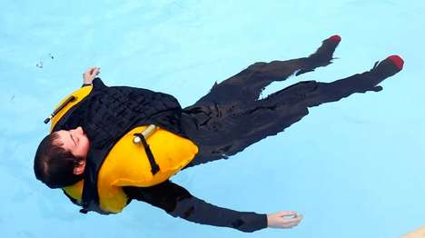 Self-Inflating Bulletproof Vests - The Floatation Armor Torso System Inflates Upon Water Contact