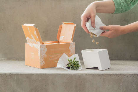 Sculptural Gardening Kits - VERD&AGUA Provides Tools to Contain and Care for Succulents