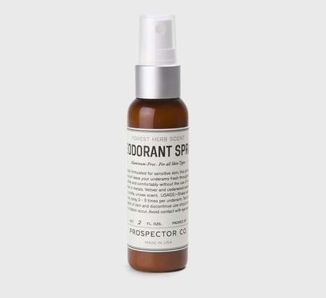 Organic Deodorant Sprays - This Unisex Deodorant is Specifically Formulated for Sensitive Skin