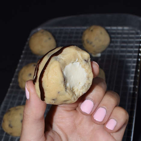 Frozen Cookie Dough Treats - These Cookie Dough Ice Cream Bites are the Perfect Treat for a Hot Day