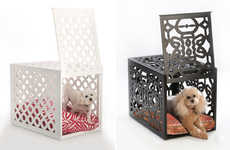 Bespoke Dog Pens - This Artist Works with Designers to Provide Consumers with Elegant Dog Cages