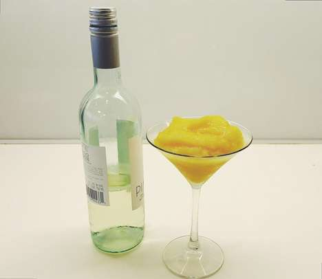 Fruity Wine Slushies - This Boozy Frozen Beverage is Ideal for Hot Summer Days