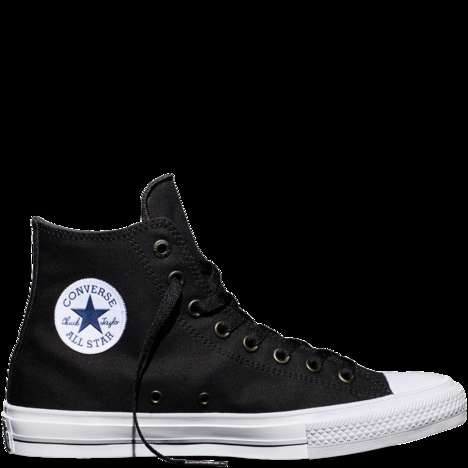 Reimagined High-Top Sneakers - The 'Converse Chuck II' is an New Version of the Iconic High-Tops