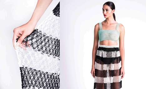 3D-Printed Fashion Collections - This Line of 3D-Printed Apparel is Designed for Everyday Wear