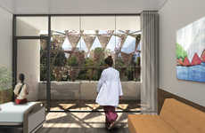 Soothing Pediatric Hospitals - This Rwandan Children's Cancer Center has Soothing and Elegant Design