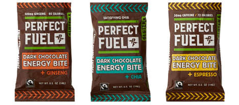 Energy-Boosting Chocolate Snacks - These Dark Chocolate Snacks Provide a Natural Energy Boost