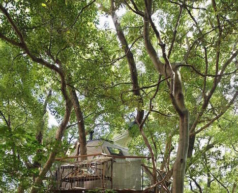 Interlocking Treehouse Hotels
