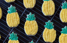 Tropical Pineapple Sugar Cookies